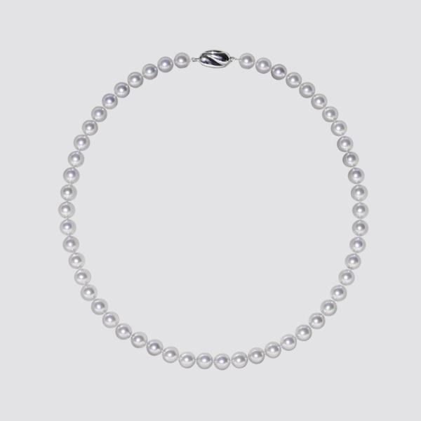あこや真珠ネックレス(ナチュラルカラー)