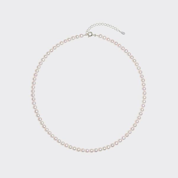 SV淡水真珠ネックレス(40cm)