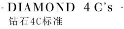 DIAMOND 4C's钻石4C标准